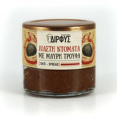 Πατέ λιαστής ντομάτας με μαύρη τρούφα